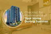 Checklist for Maintenance of Your Home During Summer | PPD
