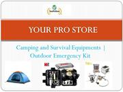 Outdoor Equipment | Outdoor Gear | Camping & Hiking
