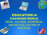 Education in Changing world