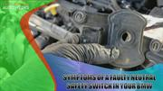 Symptoms of a Faulty Neutral Safety Switch in Your BMW