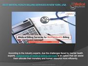 Best Mental Health Billing Services In New York, USA