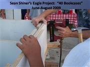 Eagle Project 40 Bookcases PowerPoint 2