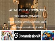 Art and Bespoke Furniture Commissions in United Kingdom