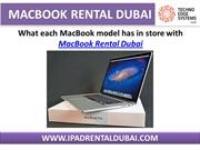 MacBook Rental Service in Dubai - IPAD Rental Dubai