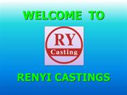Brass investment Casting Foundry & Services - RENYI CASTINGS