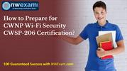 CWNP Wi-Fi Security (CWSP-206) Certification | Best Study Guide