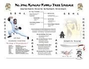 LINEAGE Donald Kinnie Martial Arts Five Animal Kung Fu master
