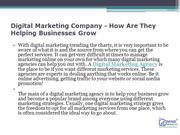 Digital Marketing Company - How Are They Helping Businesses Grow
