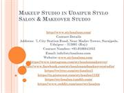 Makeup Studio in Udaipur Stylo Salon & Makeover Studio
