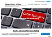 12 minutes affiliate marketing Done for you affiliate system