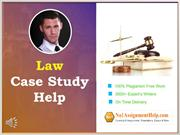 Law Case Study Help By No1AssignmentHelp