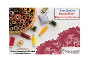 Best Quality Embroidery Digitizing Services