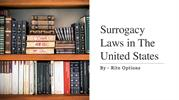 Surrogacy Law in The United States