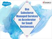Use Salesforce Managed Services as Accelerator for Small Businesses