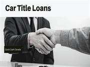 How You Take Benefits of Car Title Loan Edmonton