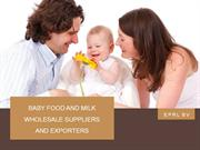 Baby Products and Milk Wholesale Suppliers