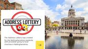 People Postcode Lottery results and winners in Nottingham, UK