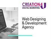 Web designing and Development Agency in India