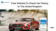 What makes Car Analytics as the best free website to check car history