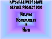 Helping Homemakers in Haiti