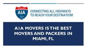 A1A Movers is the best movers and packers in MIAMI, FL