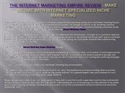 The Internet Marketing Empire Review
