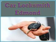 Car Locksmith Edmond