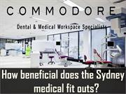 How beneficial does the Sydney medical fit outs