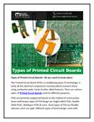 Types of Printed Circuit Boards-converted