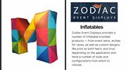 Inflatable Tents for Sale in USA   Zodiac Displays