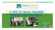 Ways to Teach Your Child Problem-Solving Skills