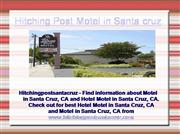Motel in Santa Cruz, CA, Hotel Motel in