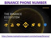 Any Problems with Binance 18887106909 account customer service number