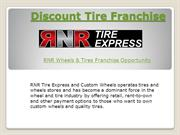 Discount Tire Franchise Opportunities