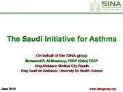 SINA Asthma Duidelines June2010