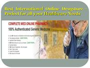 Best International Online Drugstore - perfect for all your healthcare