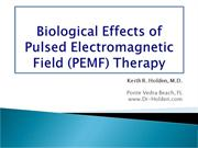 Biological effects of pulsed electromagnetic field therapy