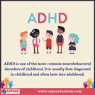 ADHD - ADHD Treatment in Bangalore - CAPAAR