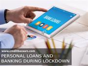 Personal Loans and Banking During Lockdown