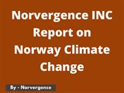 Norvergence INC - Report on Norway Climate Change