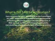 ISO 14001 - Environmental Management Systems