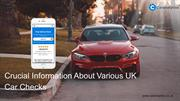 The Facts That Decide The Best Car Check Report Provider In The UK