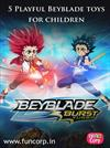 5 Playful Beyblade toys for children