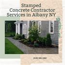 Stamped Concrete Contractor Services in Albany NY