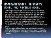 DoorDash Works: Business Model and Revenue Model