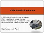 HVAC Installation Aurora