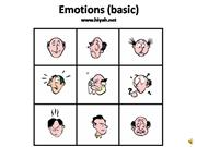 Emotions (basic)