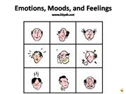 Emotions, Moods, and Feelings