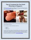 Tips & Treatment for Post Natal Slimming in Singapore