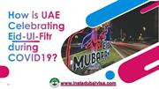 How is UAE Celebrating Eid-Ul-Fitr during COVID-19